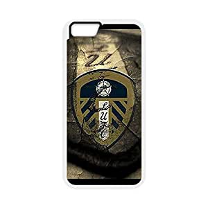 Phone Case Master,Leeds United Football Club Case, The Championship ,TPU Phone case for iphone6 plus 5.5 inch,white