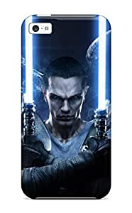 Premium Protection Star Wars Force Unleashed Case Cover For Iphone 5c- Retail Packaging