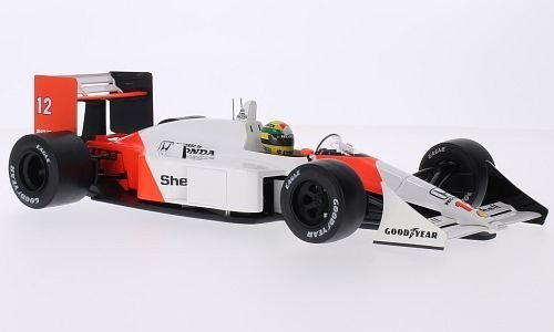 McLaren Honda MP4/4, No.12, Marlboro, Formel 1, GP Japan, 1988, Modellauto, Fertigmodell, Premium X 1:18