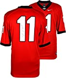 Aaron Murray Georgia Bulldogs Autographed Red Limited Jersey - Fanatics Authentic Certified - Autographed College Jerseys