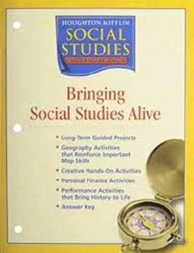 Houghton Mifflin Social Studies: Bringing Social Studies Alive Grade 5 US History