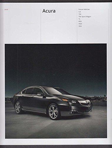 2013 Acura full line sales brochure catalog ILX TSX Sport Wagon TL RDX MDX ZDX