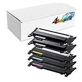 4Benefit 5 Pack Compatible toner cartridges for Samsung CLP-365 Toner Cartridges compatible for Samsung K406S/C406S/M406S/Y406S 406S Combo Set