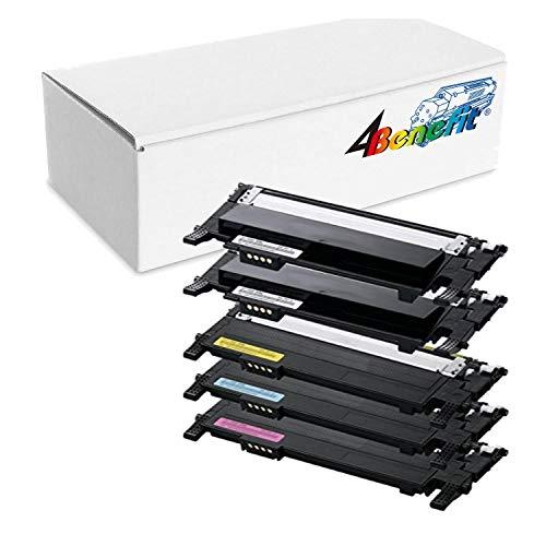 4Benefit 5 Pack Compatible toner cartridges for Samsung CLP-