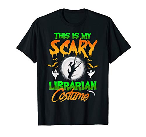 This Is My Scary Librarian Costume Halloween ()