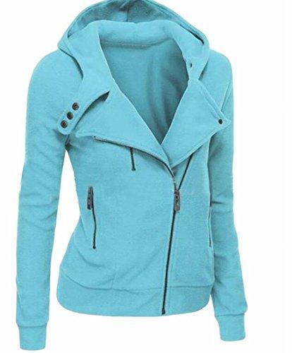 4 Womens Full Zip Sweatshirt - 6