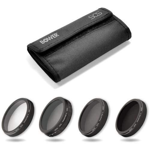 Bower Sky Capture Series SCS-FK4PH Filter Kit for Phantom 3 Professional and