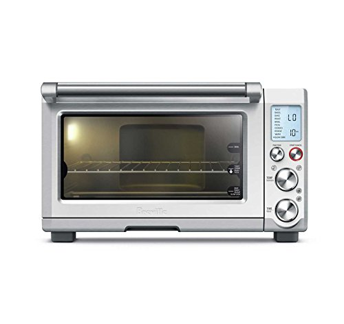 Breville BOV845BSS Smart Oven Pro Convection Toaster Oven with Element IQ, 1800 W, Stainless Steel (Oven Cavity)