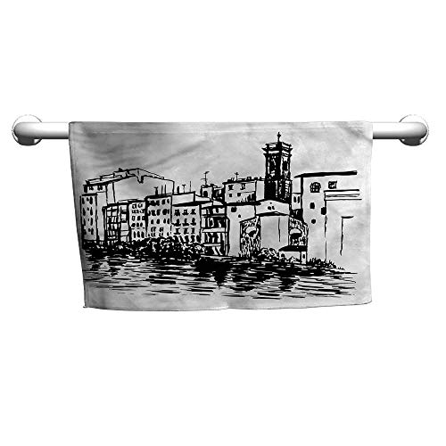 alisoso European,Kids Towels Venice City Historical W 20