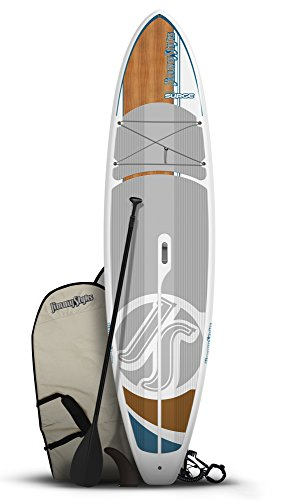 JimmyStyks Surge Paddleboard, Grey/Brown, 11'4'' by Jimmy Styks
