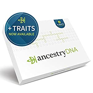AncestryDNA + Traits: Genetic Ethnicity + Traits Test, AncestryDNA Testing Kit with 25+ Appearance and Sensory Traits… 4