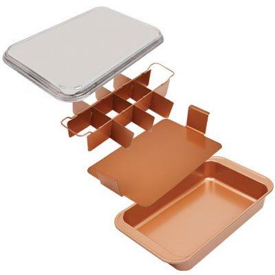 Tristar Products Ccbc 11  Copper Chef Crisp Pan   Quantity 3