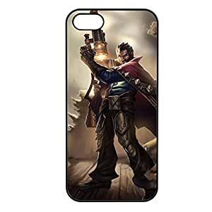 Graves-002 League of Legends LoL case cover for Apple iPhone 5/5S - Plastic Black