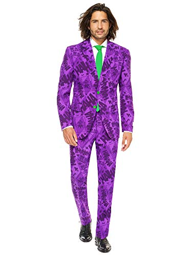 New 52 Joker Costume (Mens The Joker Suit and Tie By Opposuits,The)
