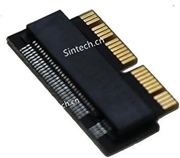 Sintech NGFF M.2 NVME - Tarjeta adaptador SSD para MacBook 2013 ...
