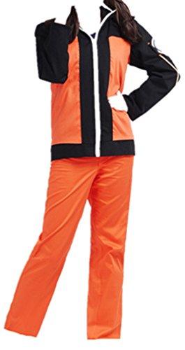 Naruto 2nd Uzumaki Naruto cosplay costume