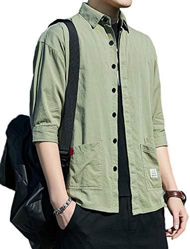 メンズ シャツ 夏服 長袖 吸汗速乾 汗染み防止 シンプル オシャレ カジュアル ワイシャツ 春夏秋 大きいサイズ