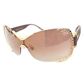 Chopard SCH A65S Sunglasses Color 300G Rose Gold/Brown Limited Edition