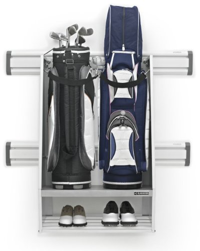 Gladiator GAWUXXGFZW Golf Caddy, (Lower Metal Shelf)