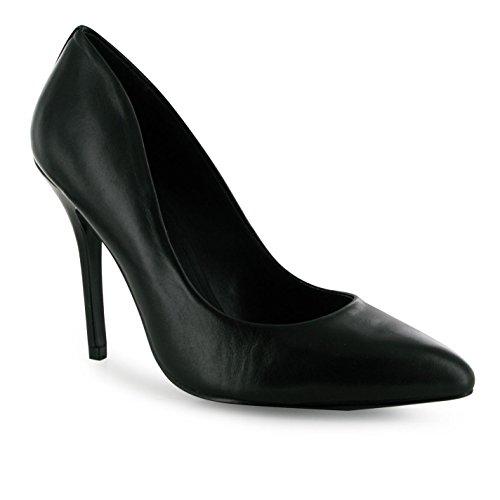 Steve Madden Galerie Stiletto Heel Shoes Damen schwarz Damen Mode Schuhe