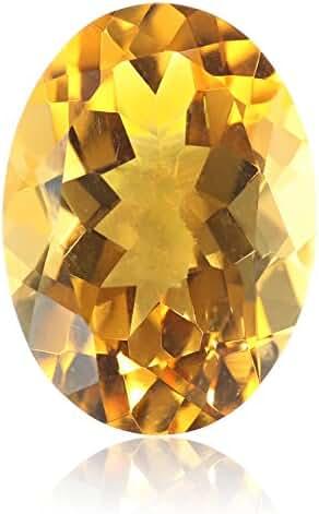 Citrine Oval Cut Loose Gemstone