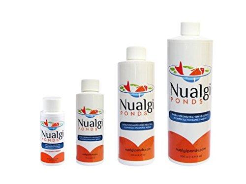 Nualgi Ponds Algae Control Natural Pond Clarifier - 500ml with Exclusive BONUS Max Ponds Magnet Calendar by Nualgi