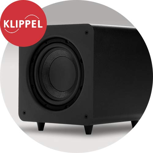 Polk Audio PSW111 Compact Powered 8'' Subwoofer | Up to 300 Watt Amp | Stylish Looks, Big Bass at Great Value | Easy Integration with Home Theater Systems by Polk Audio (Image #4)