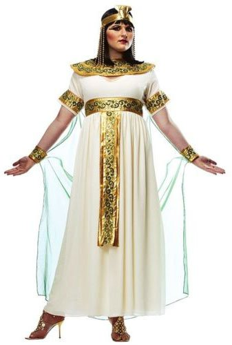 Cleopatra Costume - X-Large - Dress Size 16-18
