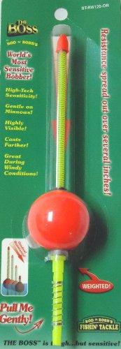 THE BOSS-1-1/4 inch Spring Stick Bobber - Orange-ST-RW125-OR (Spring Stick Float)
