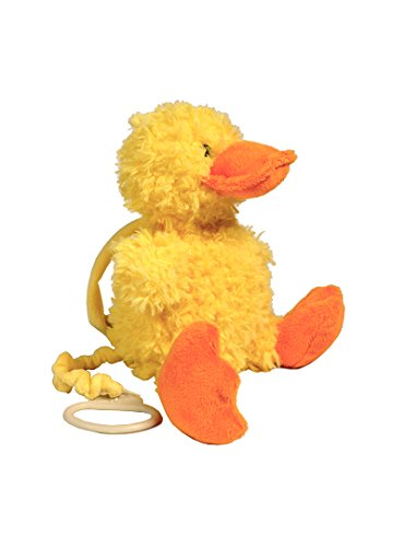Baberoo Softest Stuffed Animal Plush Toy Duck Musical Soother for Babies and Children, 10 -