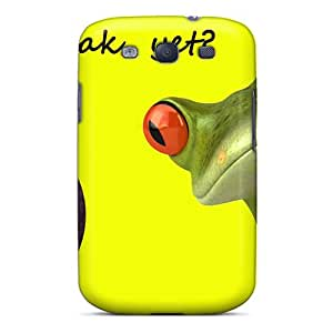 Fashion Protective Coffee Break Yet Case Cover For Galaxy S3