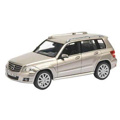 Schuco 1:43 Mercedes - Benz Glk Sport Silver with Black Interior