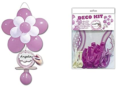 Disok- Deco kit chupete rosa, Multicolor (7063): Amazon.es ...