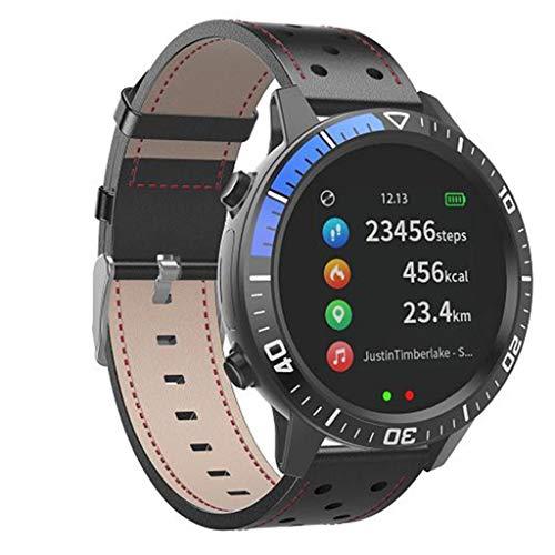 DAYLIN Reloj Inteligente Hombre Mujer Android iOS Reloj Deportivo Impermeable Reloj Pulsera de Actividad Bluetooth Fitness Tracker con Pulsómetro Monitor de ...