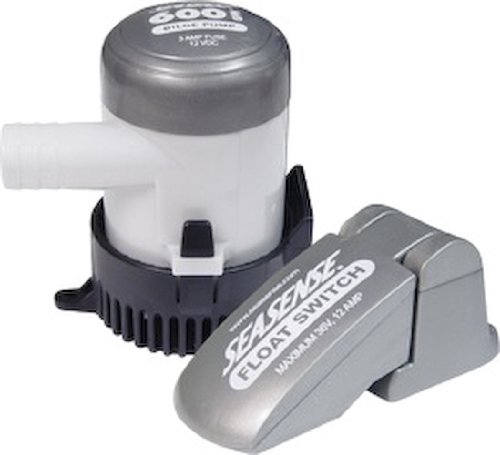 Seasense Bilge Pump - SeaSense 600 GPH with Float Switch