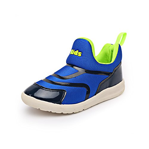 VILOCY Babyschuhe Mädchen Jungen Lauflernschuhe Sneaker Trainer Schuhe Blau EU22