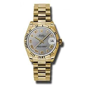 Rolex Datejust Gray Dial Women's Watch 178278
