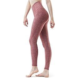 Tesla TM-FYP54-SDD_Small Yoga Pants High-Waist Leggings w Side Pockets FYP54