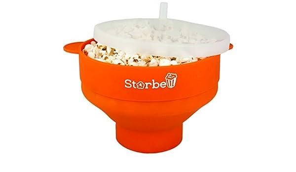 Storbell Microondas Popcorn Popper - Seguro y silencioso - fácil ...