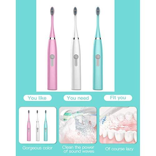 Sunmiy Erwachsene elektrische Zahnb�rste Haushalt Soft Brush Waterproof Sound Toothbrush Elektrische Zahnb�rsten
