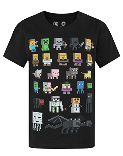 Jungen - Minecraft - Minecraft - T-Shirt (14-15 Jahre)