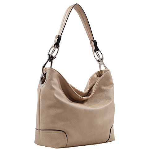 Mkf Collection By Mia K Farrow Emily Soft Vegan Leather Hobo Handbag