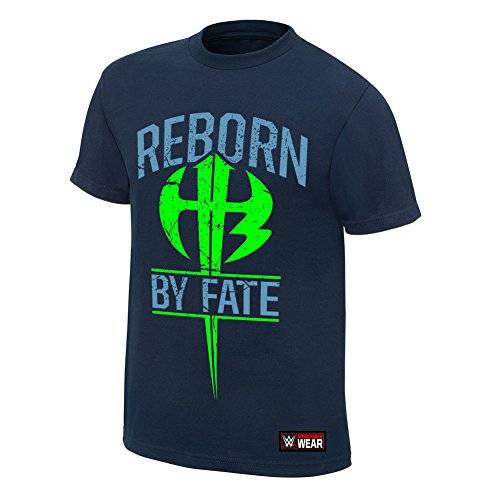 WWE The Hardy Boyz Reborn by Fate Authentic T-Shirt Navy Blue Small by WWE Authentic Wear