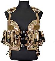 97 Tactical Vest SOE CQB Multi-Function Combat Vest Molle System Light Camouflage Field Outdoor Combat Equipme