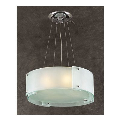 PLC Lighting PLC Logan 4-Light 7284 Polished Chrome Chandelier