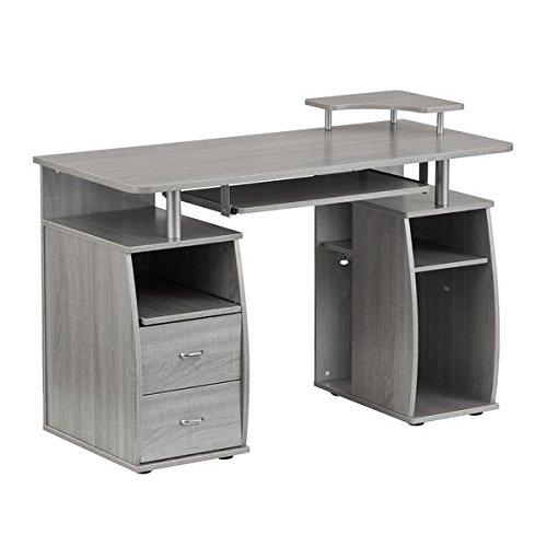 Techni Mobili Complete Computer Workstation Desk - Mobile Desks Office
