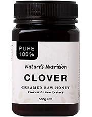 Nature's Nutrition Cream Clover Honey, 500g