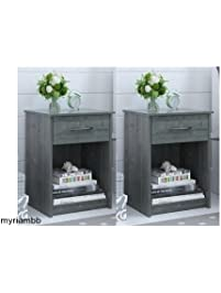 set of 2 nightstand