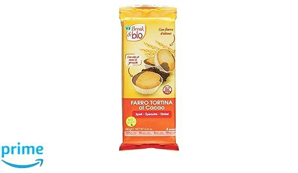 Probios Break&Bio Pastel de Espelta Al Cacao - 12 paquetes: Amazon.es: Alimentación y bebidas