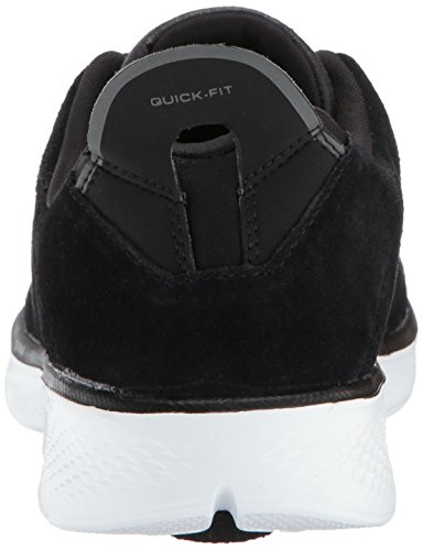 Go Trainers Skechers Walk white Women''s Black 4 4xwqwvSg